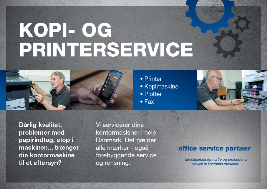 OSP kopi- og printerservice