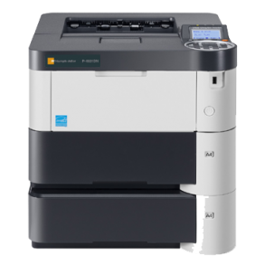 Printer sort/hvid