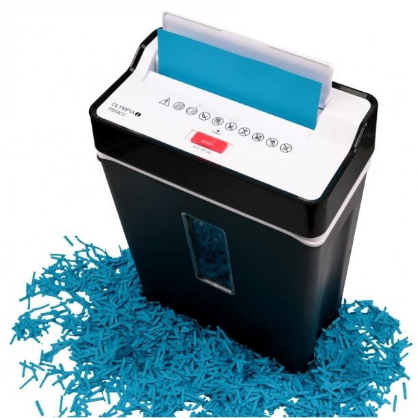 Makulator til krydsmakulering af papir og kreditkort  - PS 54 CC