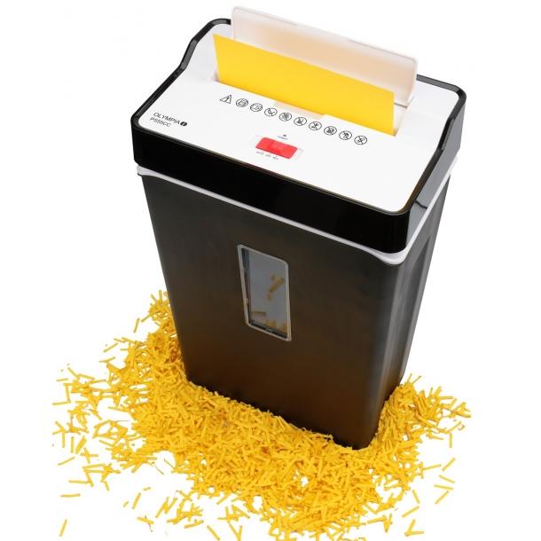Makulator til krydsmakulering af papir og kreditkort  - PS 55 CC