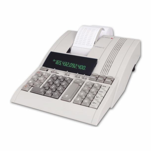 Olympia regnemaskine med udskriver CPD 5212