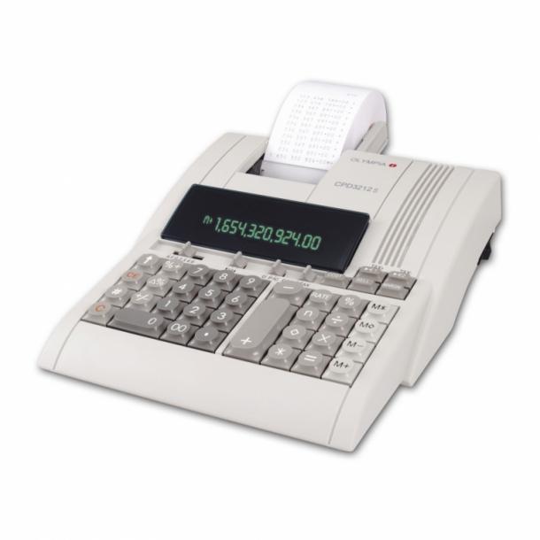 Olympia regnemaskine med udskriver CPD 3212T